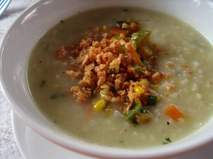 Vegetarian Arrozcaldo