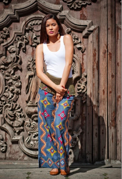 Down south. Petra pants to dress your lower half.
